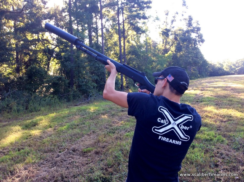 SS1C Shotgun Silencer on a Benelli M4