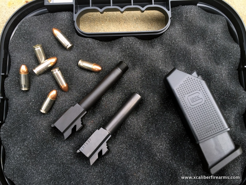 Glock 43 threaded barrel